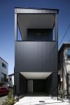 大阪市  2層フレームの家(Architect Kimiko Morikami  Photo  Eiji Tomita)