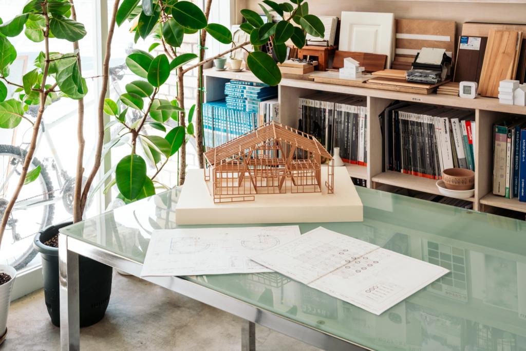 建築模型と施工図