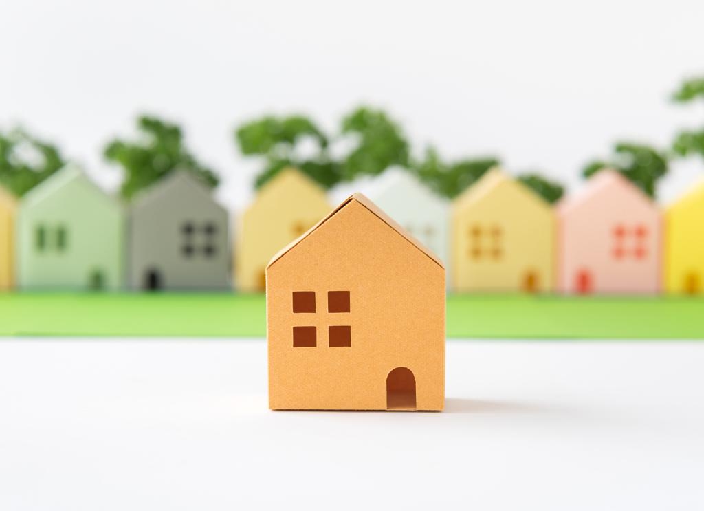 住宅の模型イメージ